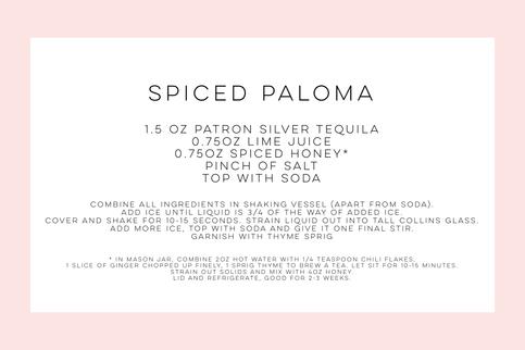 Spiced Paloma Recipe