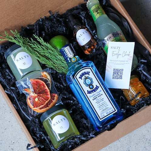 Bombay Sapphire 'Gin Lover's Kit'