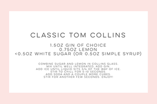 Classic Tom Collins