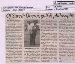 AV GOLF The Indian Express_Cambay Golf_25-12-06.jpg