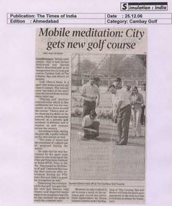 AV GOLF The Times of India_Cambay Golf_25-12-06.jpg
