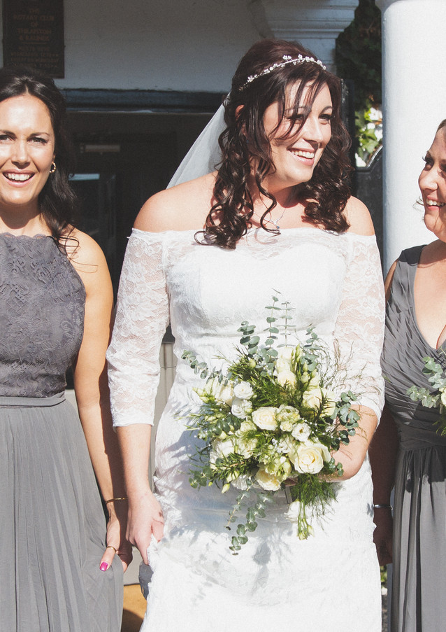 Lucy Tibbs Photography - Bride/Bridesmaids Wedding Photography taken in Northamptonshire