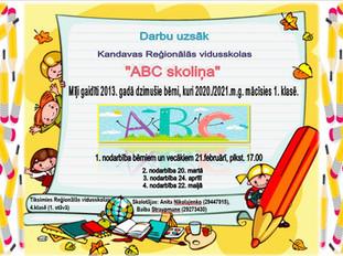 ABC skoliņas nodarbības