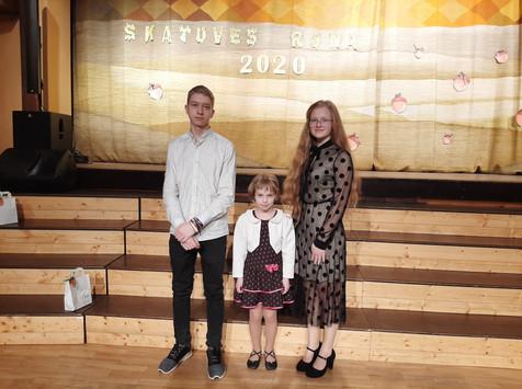 Kurzemes reģiona Skatuves runas konkursa laureāti