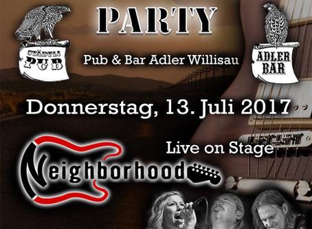Live im Adler Pub, Willisau