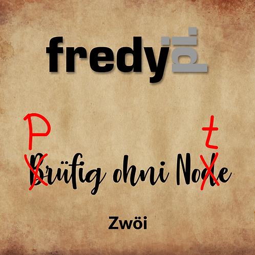 CD-Single - Fredy Pi. - Prüfig ohni Note
