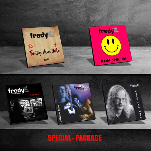 Special-Package - 5 CD's
