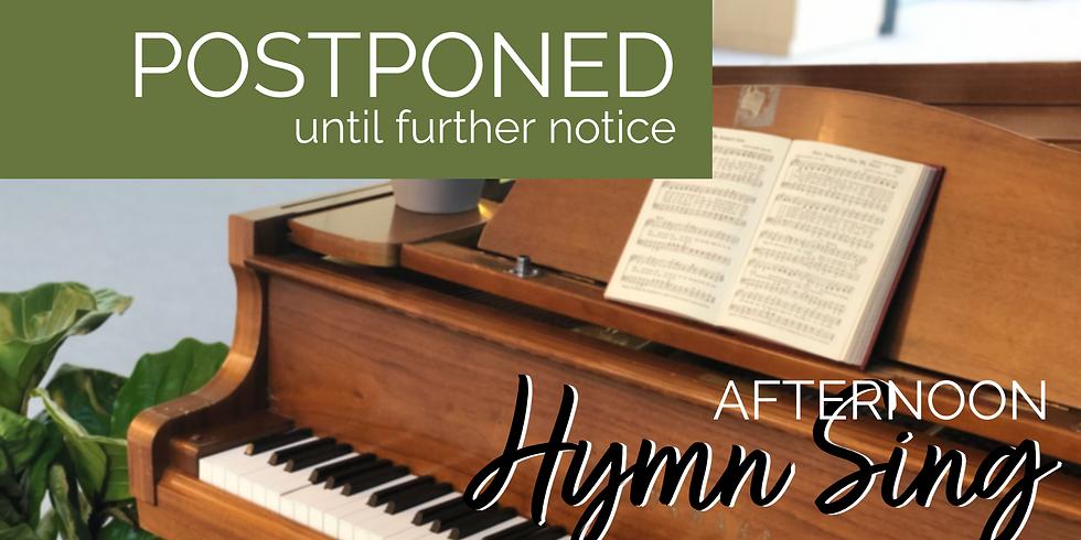 Afternoon Hymn Sing
