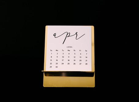 Why my Schedule Looks the Same, Every SingleWeek.