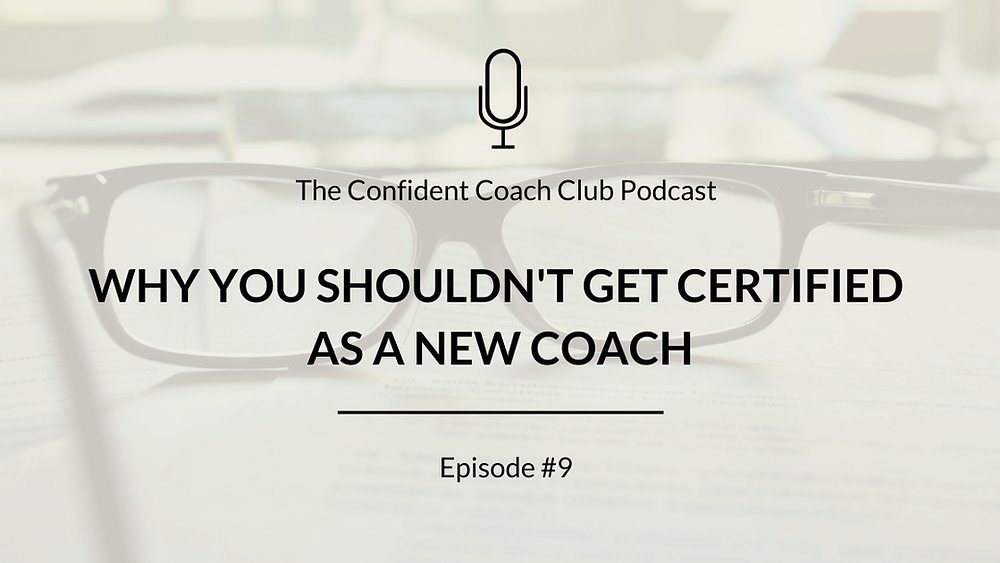 Cover Image Confident Coach Club Podcast Episode 9