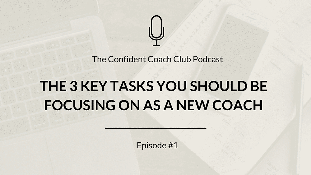 Episode 1 Cover Confident Coach Club Podcast