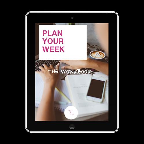 Self-Coaching Workbook: Plan your Week
