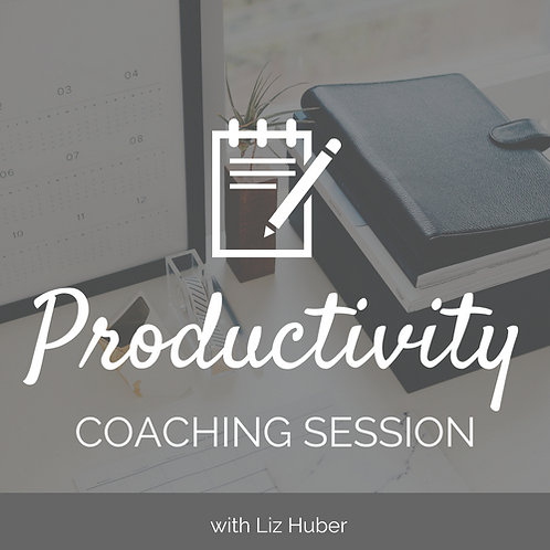 Productivity Coaching Session