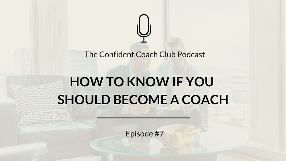 Cover Image Confident Coach Club Podcast Episode 7