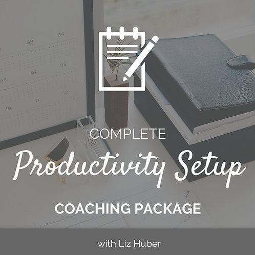 Complete Productivity Set-Up