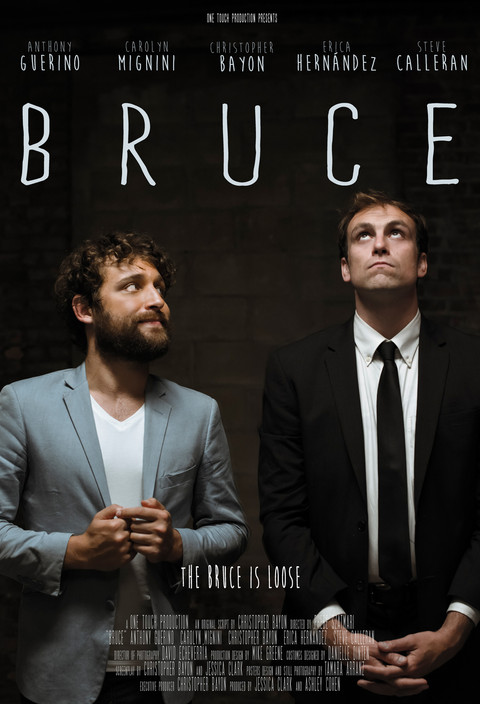 Poster for the film BRUCE, by Chris Bayon (EEUU // 2015)