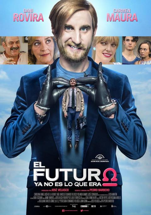 Poster for EL FUTURO YA NO ES LO QUE ERA (Spain // 2016)