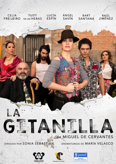 Poster for the play LA GITANILLA, by Sonia Sebastian (Spain // 2015)