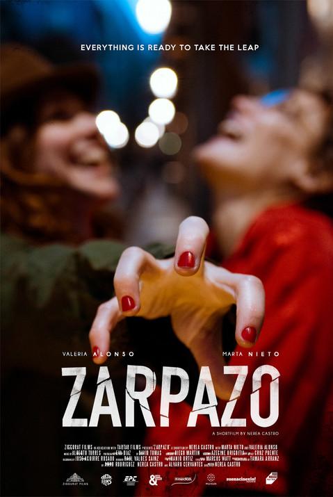 Poster for the shortfilm ZARPAZO, by Nerea Castro (Spain // 2016)