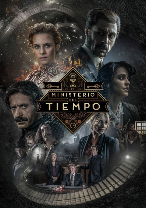 Poster 3rd season of EL MINISTERIO DEL TIEMPO, by Cliffhanger and Onza Entertainment (Spain // 2017)