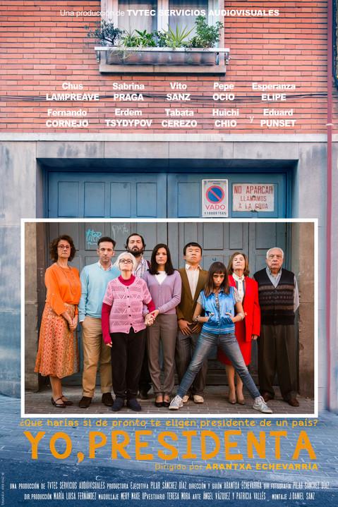 Alternative poster for the shortfilm YO, PRESIDENTA, by Arantxa Echevarría (Spain // 2014)
