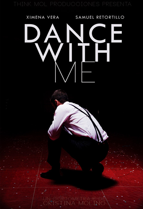 Alternative poster for the shortfilm DANCE WITH ME, by Cristina Molino (Spain // 2013)
