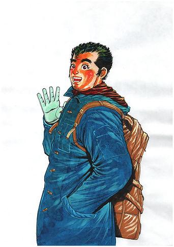 Shungyo Raisan Painting