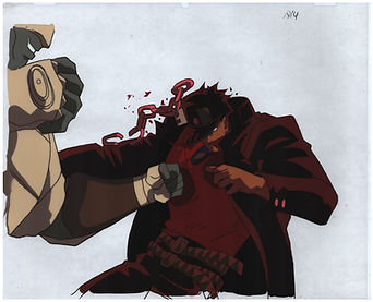 Jotaro Punched