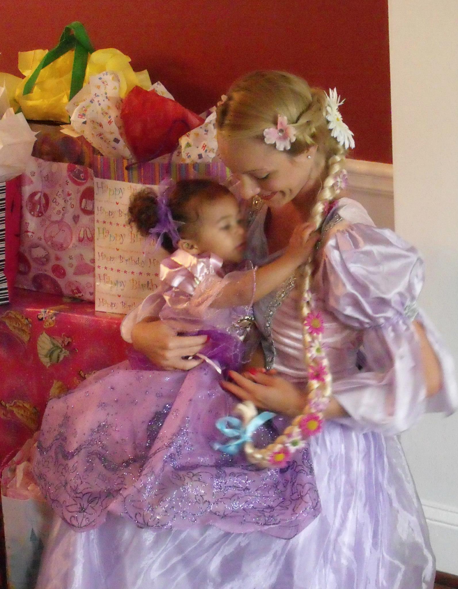 Atlanta Rapunzel Birthday Party