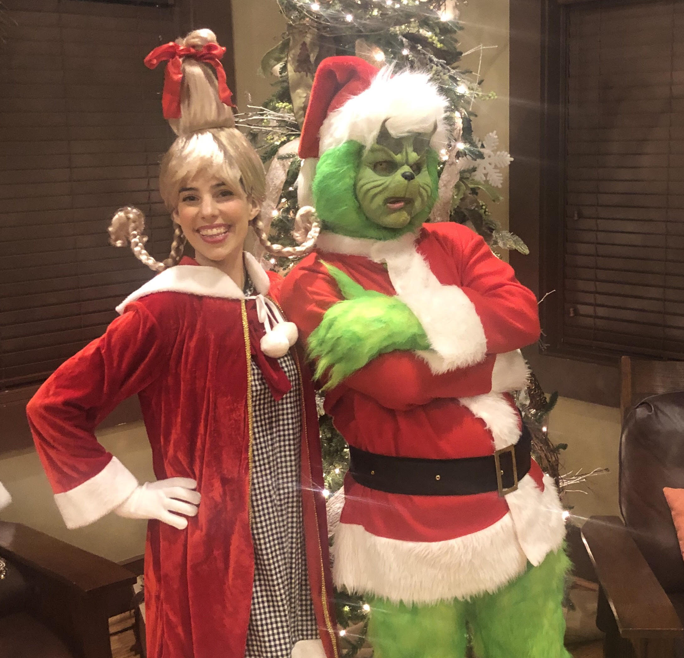 Grinch and Cindy Lou Characters GA