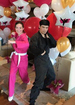 Pink Female Ninja Party Atlanta GA