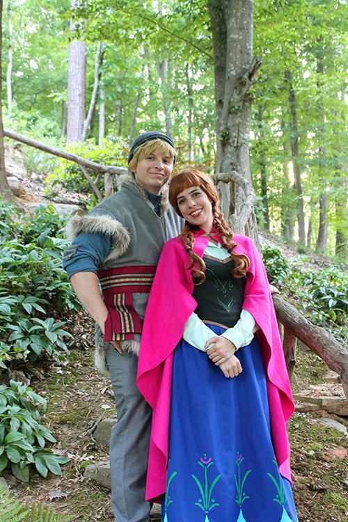 Kristoff and Anna Party Atlanta