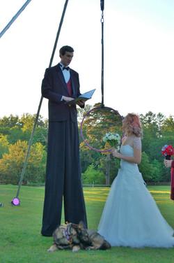 Stilt Walker Master of Ceremonies