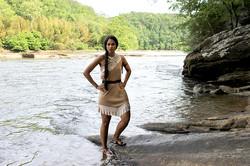 Atlanta Pocahontas Party Character