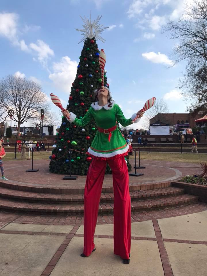 Atlanta Christmas Stiltwalkers