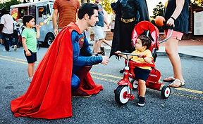 atlanta superman costumed character party