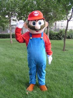 Mario Costumed Character Rental