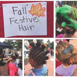 Fall Festival Crazy Hair