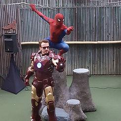 iron man costumed character atlanta ga