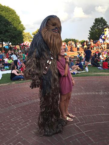 Chewbacca Costumed Character Atlanta