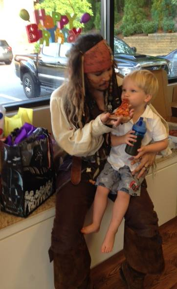 Atlanta Jack Sparrow Birthday Party