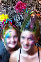 Atlanta GA Crazy Hair Birthday Party