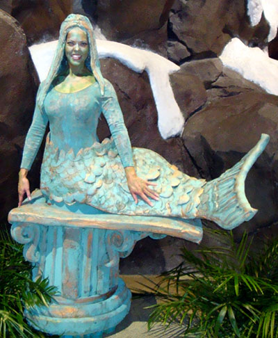 Mermaid Living Statue - Atlanta