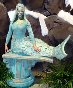 Mermaid Living Statue - Atlanta