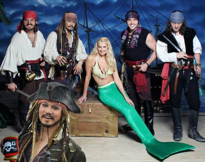 Capt. Jack, Crew & Mermaids