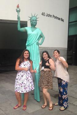 Lady Liberty - 4th July Stilt Walker