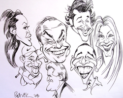 Atlanta GA Caricature Artist