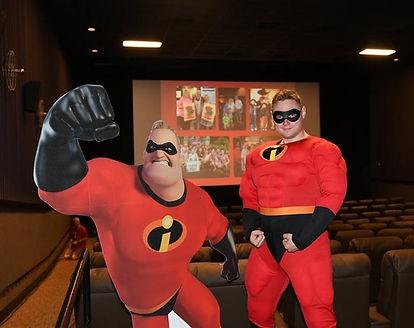 Mr Incredible Birthday Party Atlanta | Incredibles Costumed Character