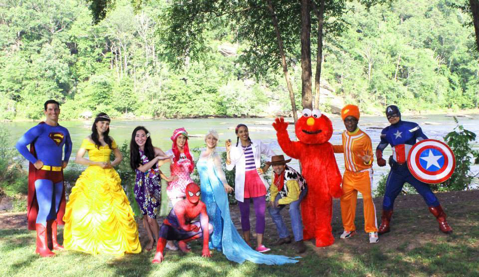 cartoon characters for kids parties