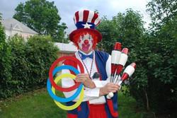 Patriotic Clown